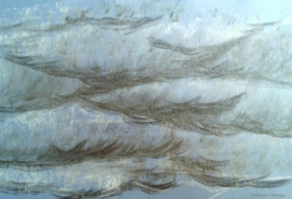 1019x696 Andrew Perugia Artworks Drawings Oca Part 3 Landscape Drawing