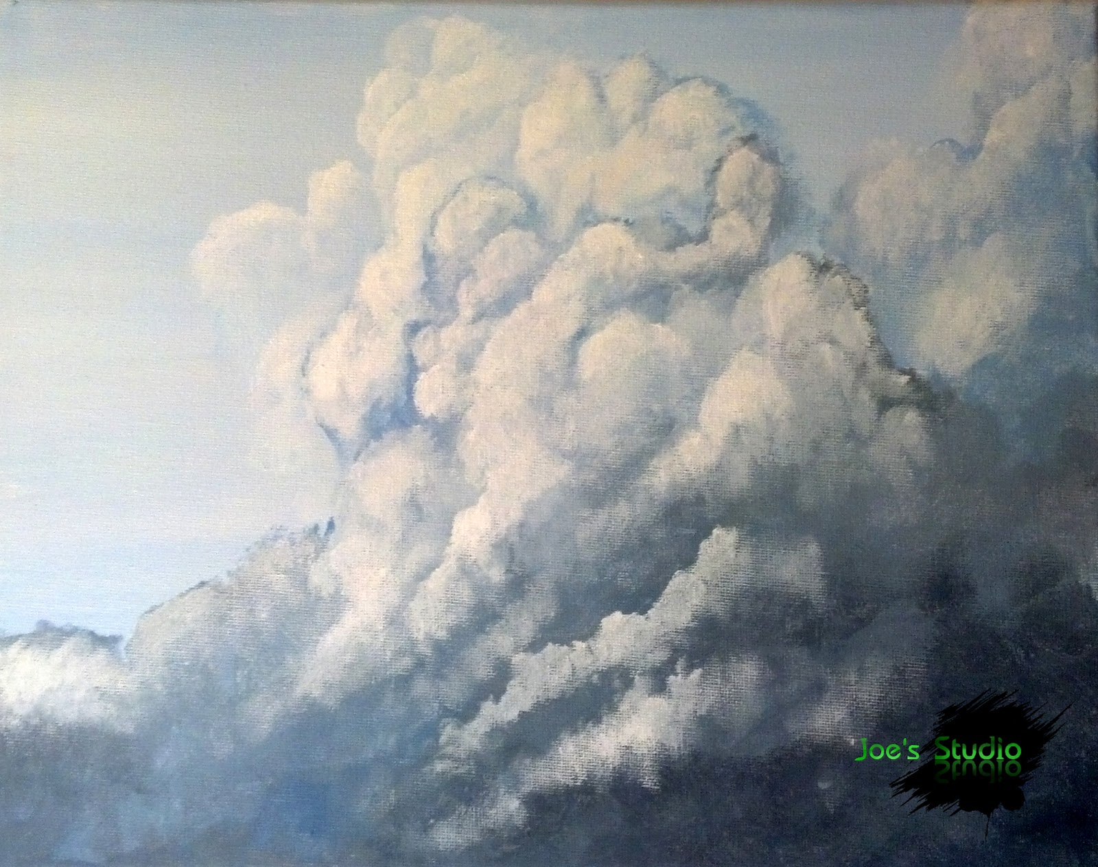 1600x1264 Joe's Studio Painting Clouds