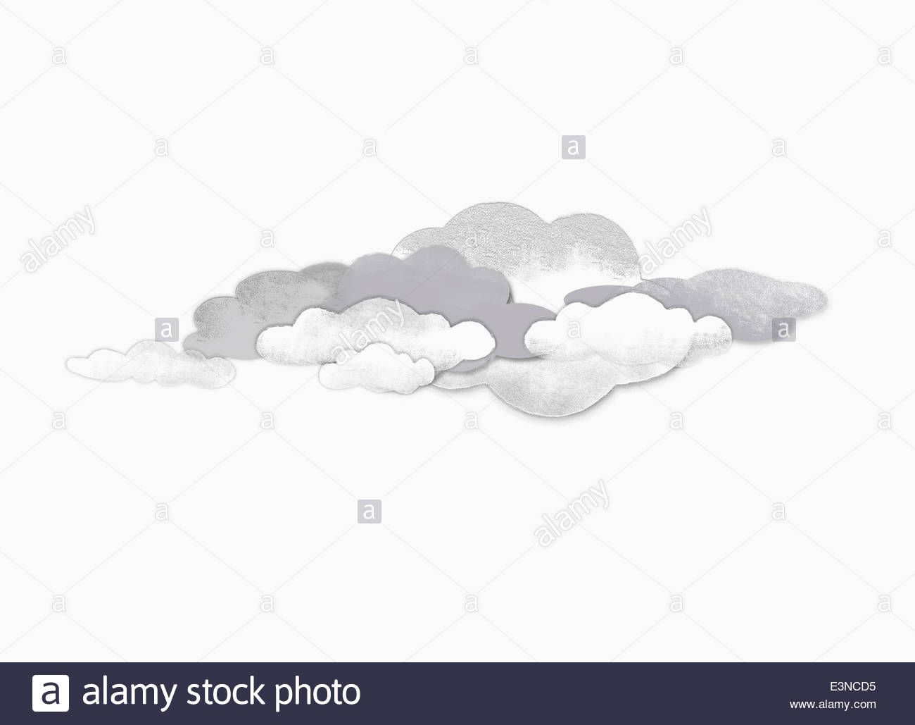1300x1029 Storm Clouds Against White Background Stock Photo 71156209