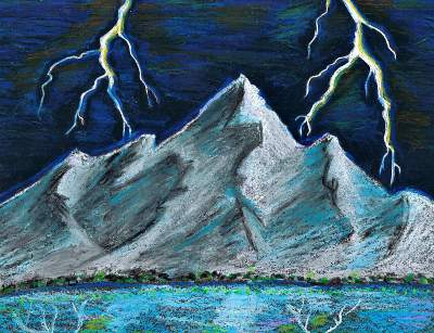 400x307 Storm Teen Pastel About Landscapes And Nature Teen Ink