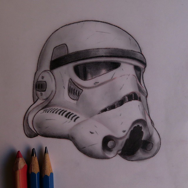 640x640 Best Stormtrooper Helmet Tattoos