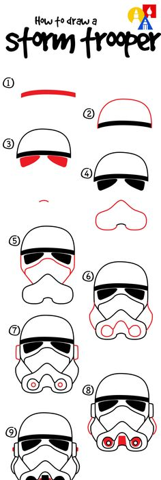 236x700 Stormtrooper Helmet Stencil Outline Pictures Body Art