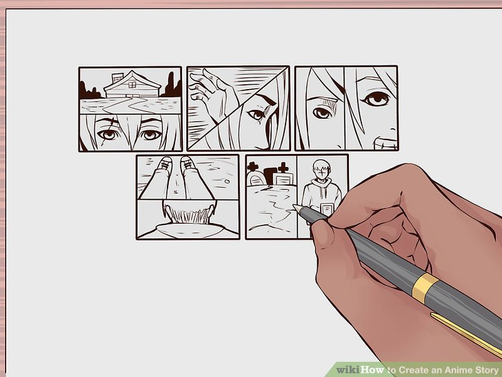 728x546 How To Create An Anime Story 10 Steps (With Pictures)