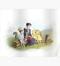 210x230 Storybook Drawing Posters Redbubble