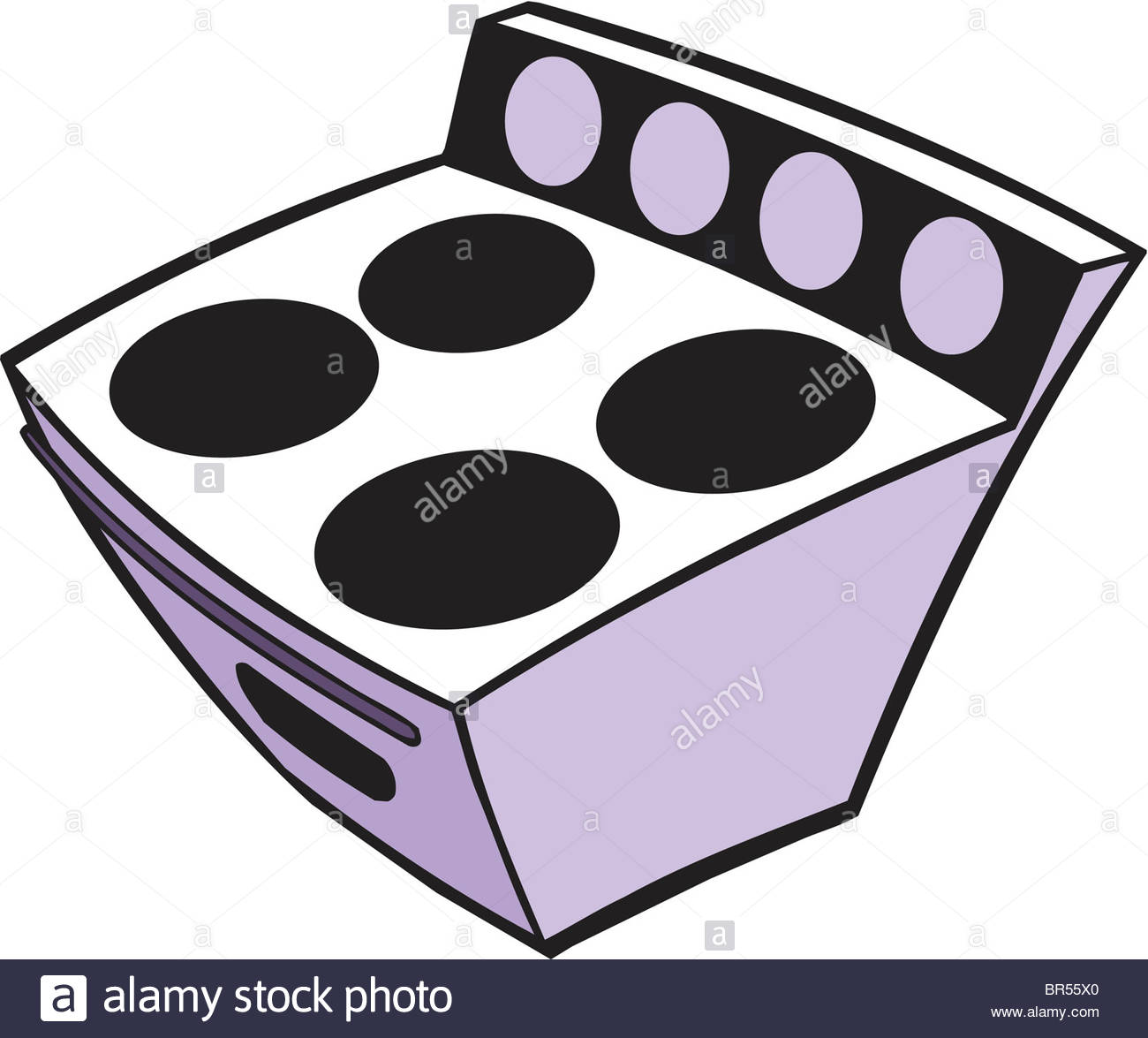 1300x1175 A Cartoon Drawing Of A Stove Stock Photo 31461864