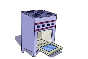300x200 How To Draw A Stove
