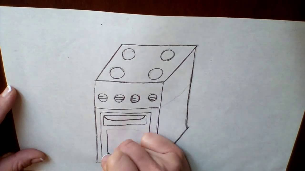 1280x720 Draw Electric Stove