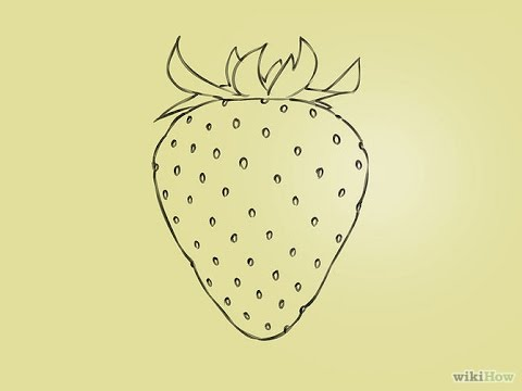 480x360 How To Draw A Strawberry