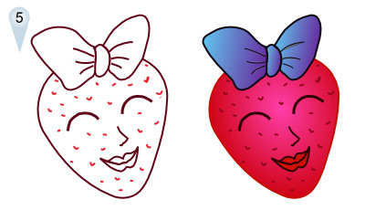400x230 Of Strawberry Cartoon