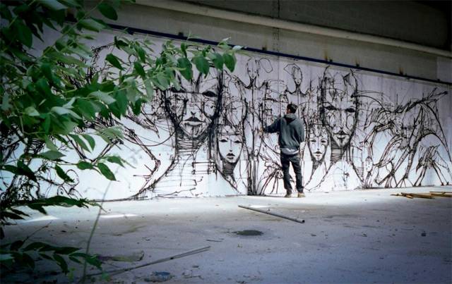 640x403 The Street Art And Drawings Of Iemza Colossal