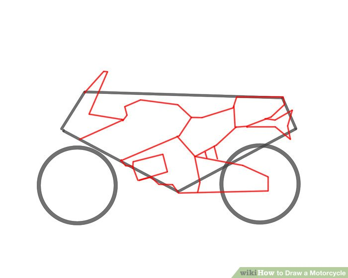 700x560 4 Ways To Draw A Motorcycle