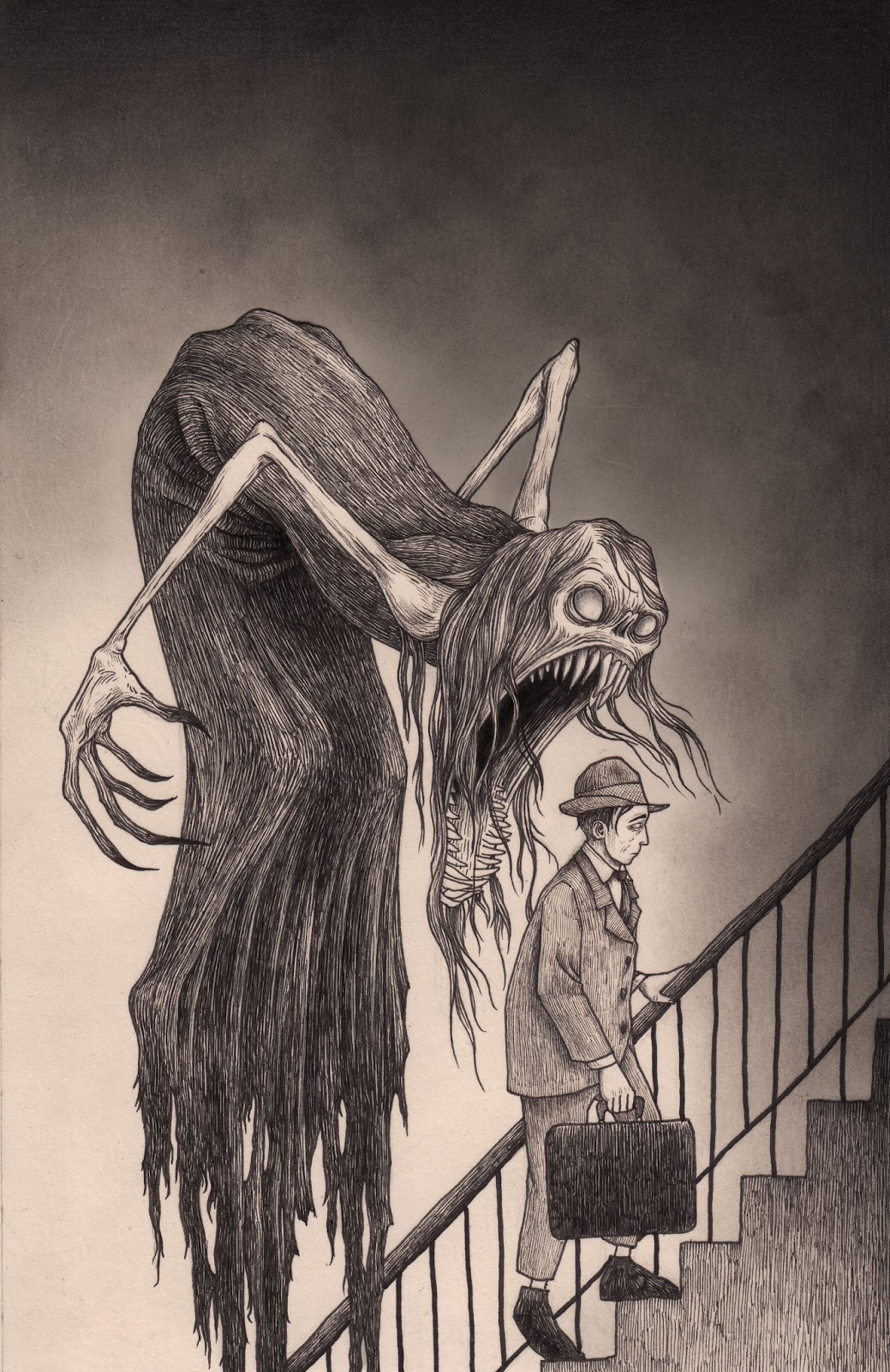 1039x1600 Stress Monster Drawings By Don Kenn