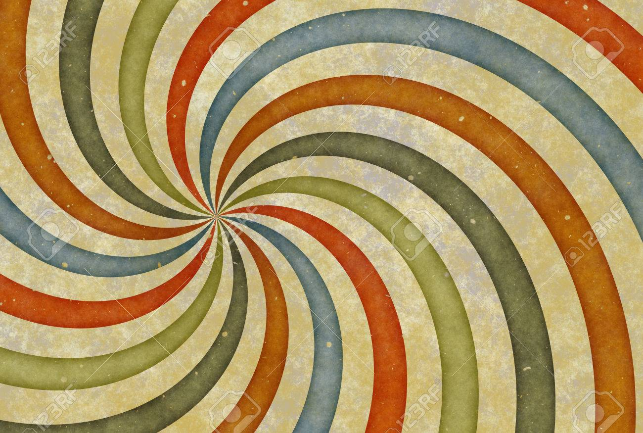 1300x875 Old Vintage Drawing Picture With Curl Stripes Paper Texture