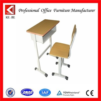 350x350 Student Desk And Chair School Furniture Height Adjustable Drawing