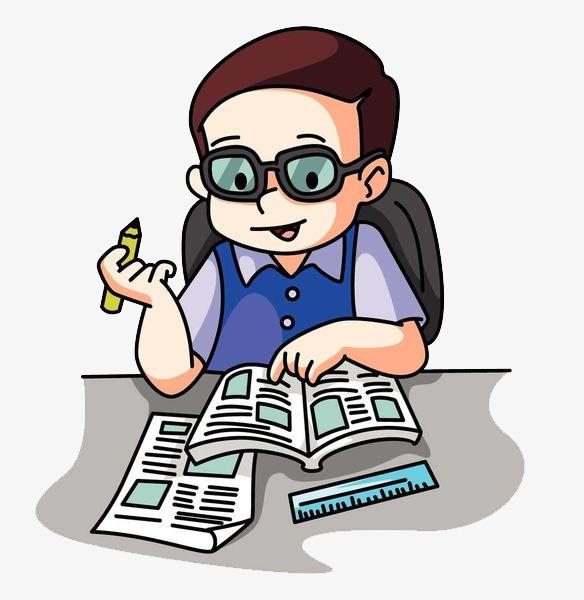 584x600 Handwriting Student, Cartoon Hand Drawing, Study, Attend Class