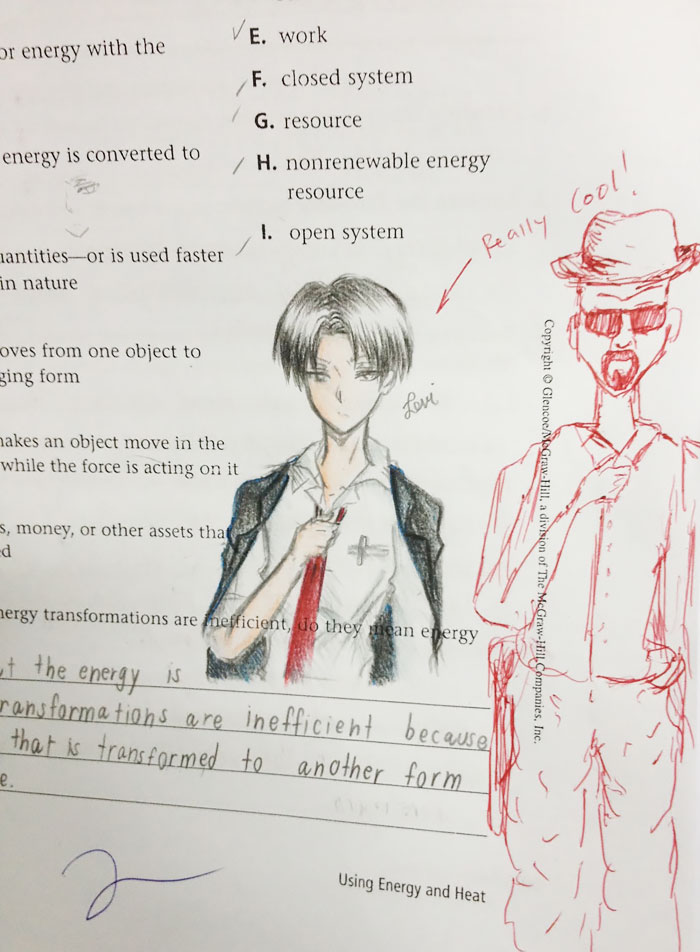 700x952 This Teacher Hilariously Finishes The Doodles Of His Students