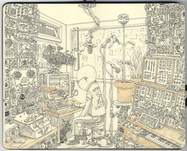 600x483 Best Sketchbook Art