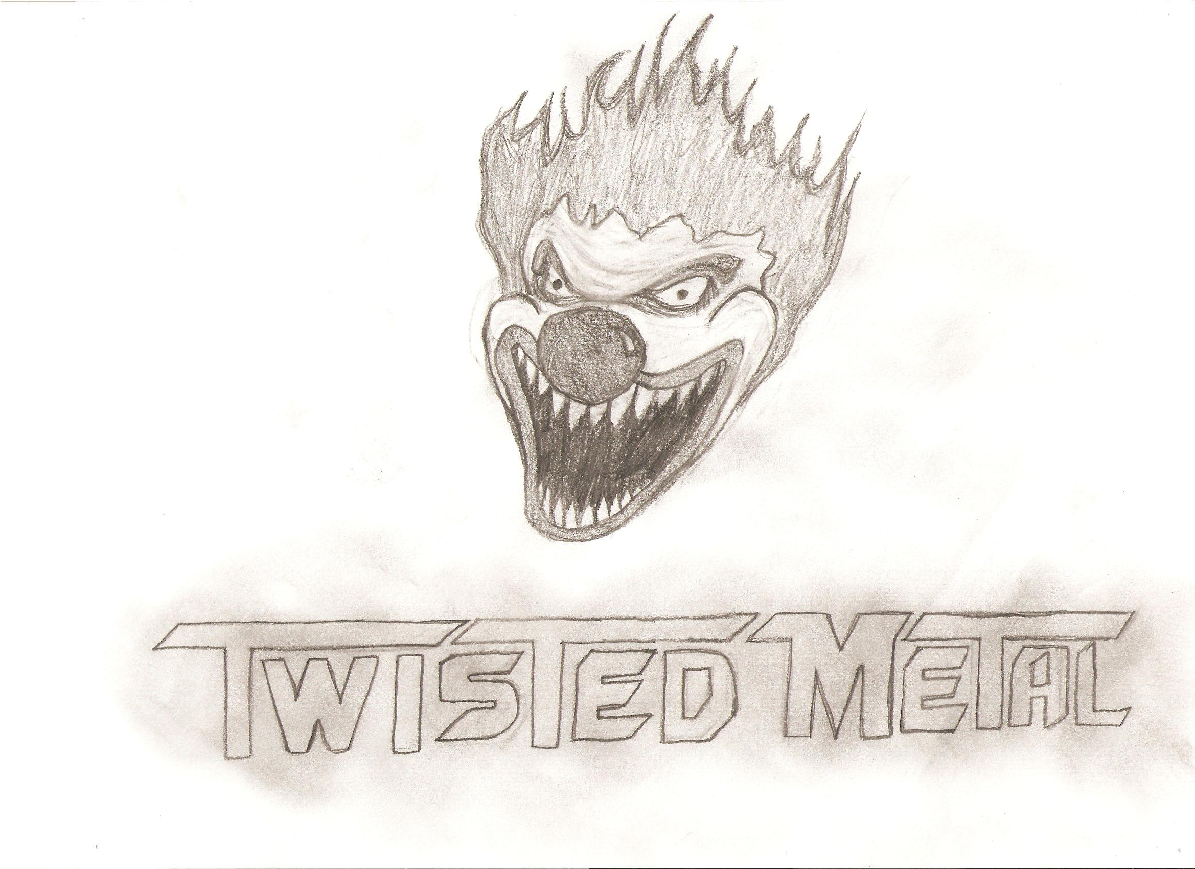 2338x1700 Twisted Metal Drawing Brutally Honest Reviews And Other Cool Stuff