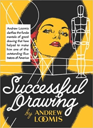363x499 Successful Drawing (9780857687616) Andrew Loomis Books