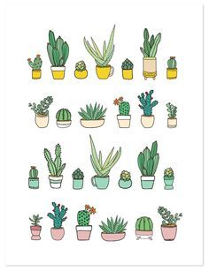 236x307 Succulents Print Printing, Bullet Journals And Bullet