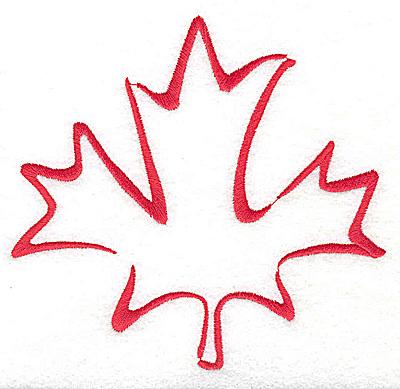 400x389 Maple Leaf Drawing