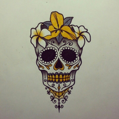 Sugar skull drawing tumblr at getdrawings free for personal 500x498 sugar skull tattoo design tumblr voltagebd Image collections
