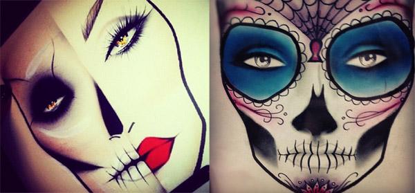 600x279 Dia De Los Muertos Makeup