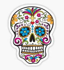 210x230 Sugar Skull Drawing Stickers Redbubble