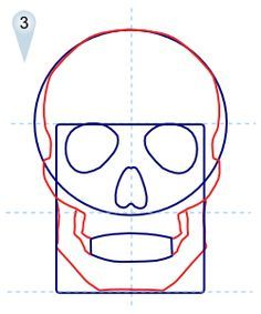 236x283 How To Draw Skulls Step 9 How 2 Draw . Pop