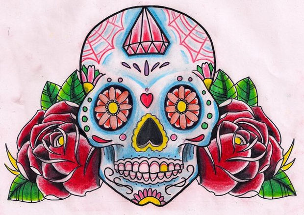 620x438 Skull Drawings, Art Ideas Design Trends