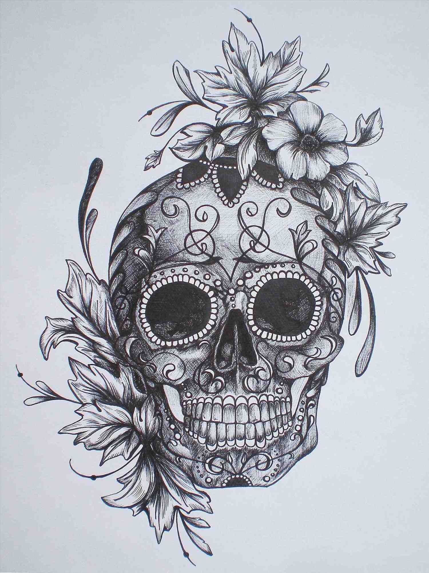 1500x2001 Sugar Skull Drawings Tumblr Simple Sugar Skull Drawings Tumblr