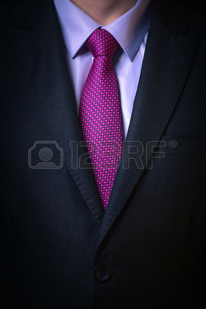 300x450 Closeup Portrait Of Businessman In Suit With Tie And Drawing