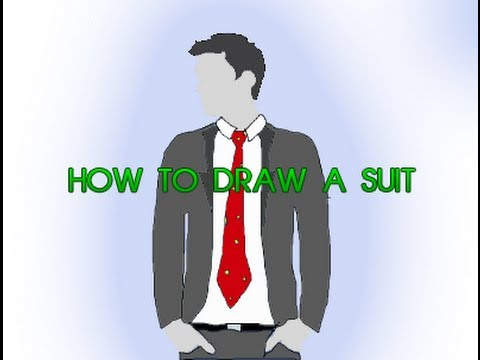 480x360 How To Draw A Suit [Easy Tutorial]