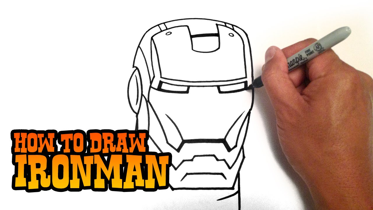 1280x720 How To Draw Ironman