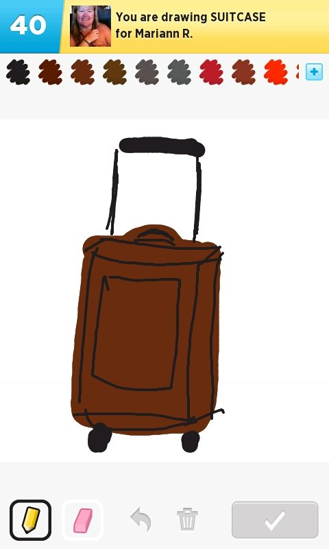480x800 Suitcase Drawings