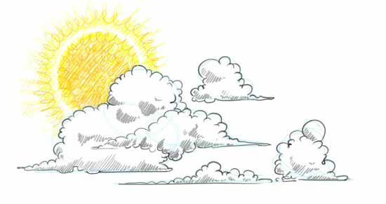 550x291 How To Draw Clouds Step By Step May Goodies Cloud