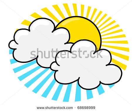 450x378 Sun And Clouds Drawing Clipart Panda