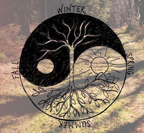 500x463 Sun And Moon Drawing Tumblr Love Winter Art Tree Summer Hippie