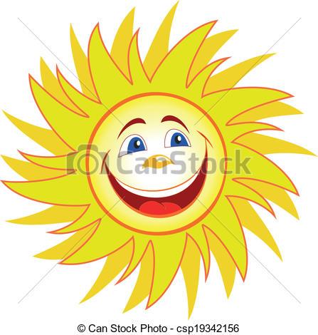 447x470 Fun Sun Cartoon. Happy Sun Cartoon Clipart Vector