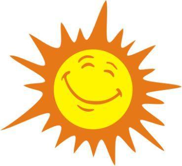 369x336 Happy Sun Drawing