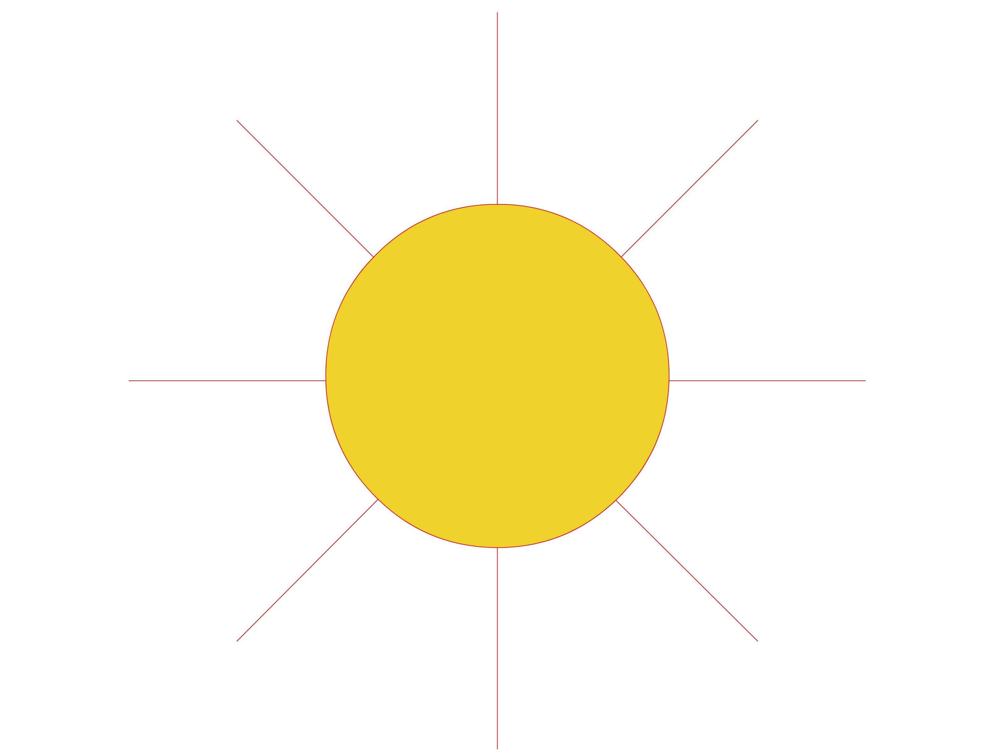 3200x2400 Realistic Sun Drawing How To Draw A Sun Stepstep