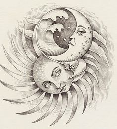 236x260 Sun And Moon. Nature. Drawings. Pictures. Drawings Ideas For Kids