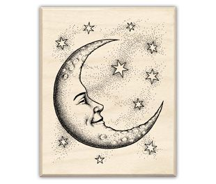 310x265 Half crescent moon tattoo Crescent Moon And Stars Drawings