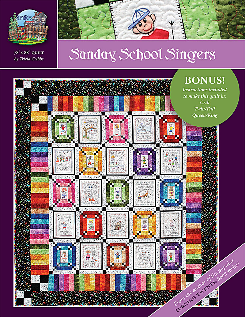 800x1035 Sunday School Singers Quilt Pattern I Made This Quilt. Sewing