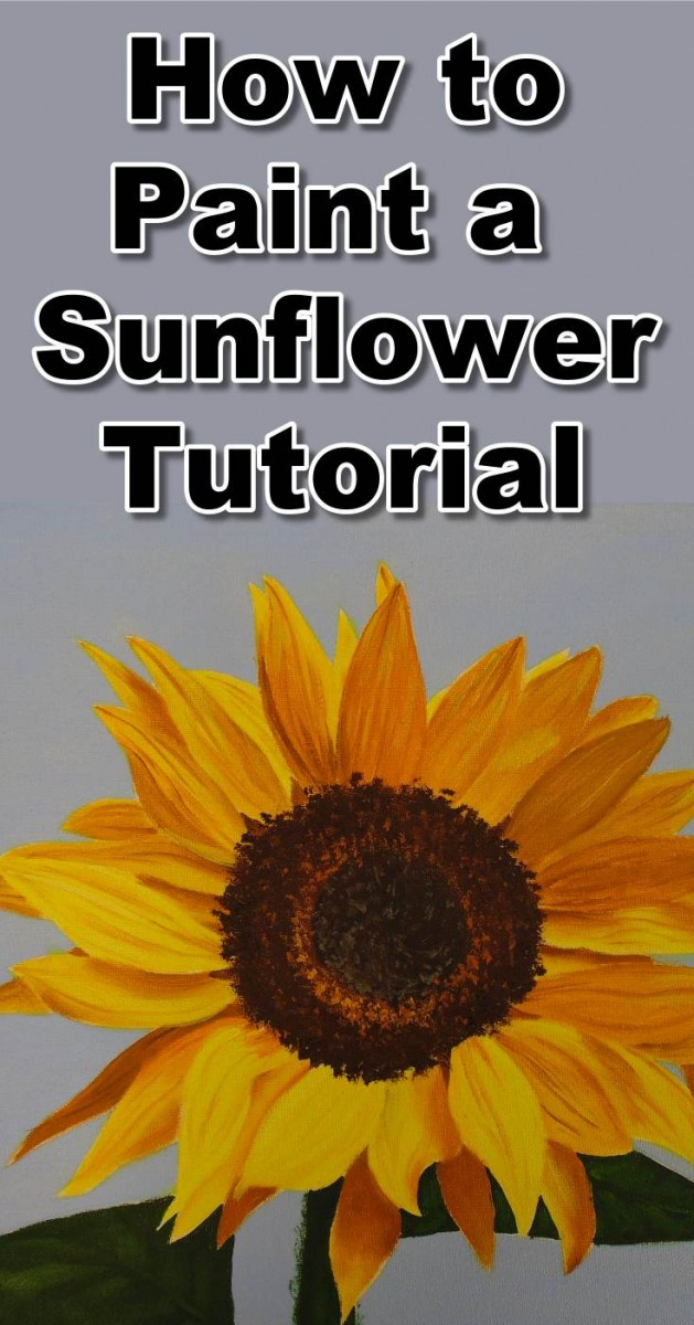 629x1200 How To Paint Sunflowers In Oil Online Art Lessons