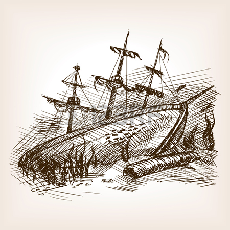 450x450 187 Sunken Ship Stock Vector Illustration And Royalty Free Sunken