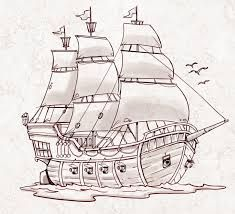 235x214 Image Result For Making A Sunken Ship Out Of Paper Drawing Large