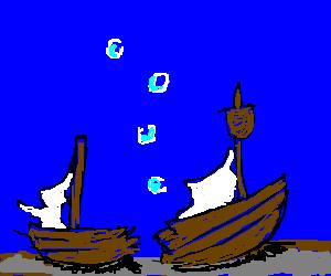 300x250 Startlingly Realistic Sunken Ship