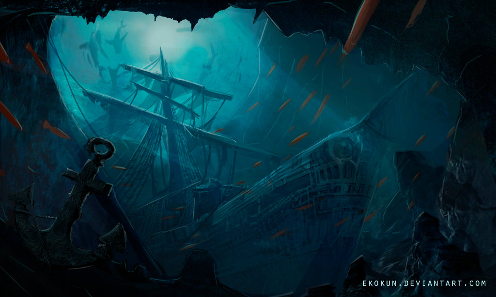 Sunken Ship Drawing at GetDrawings com | Free for personal