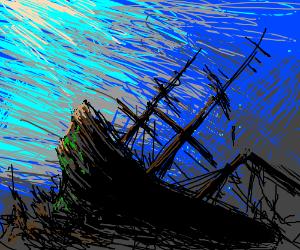 300x250 Sunken Ship